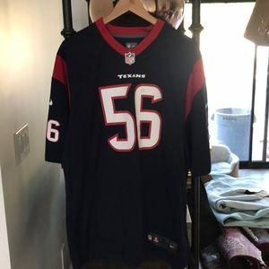 NFL On Field Brian Cushing Jersey